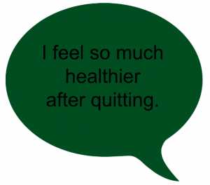 After quitting